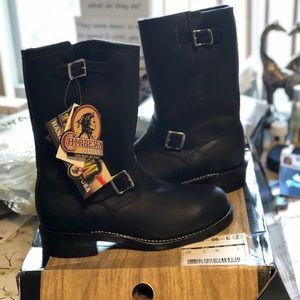 "Men's Chippewa 11"" Engineer Steel Toe Boots"